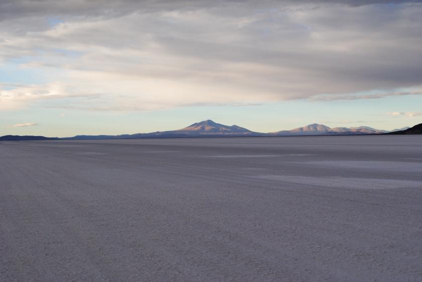 6am on Salar de Uyuni, Bolivia