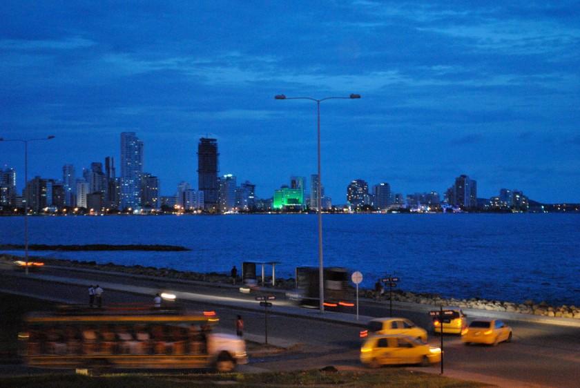 Cartagena-dusk