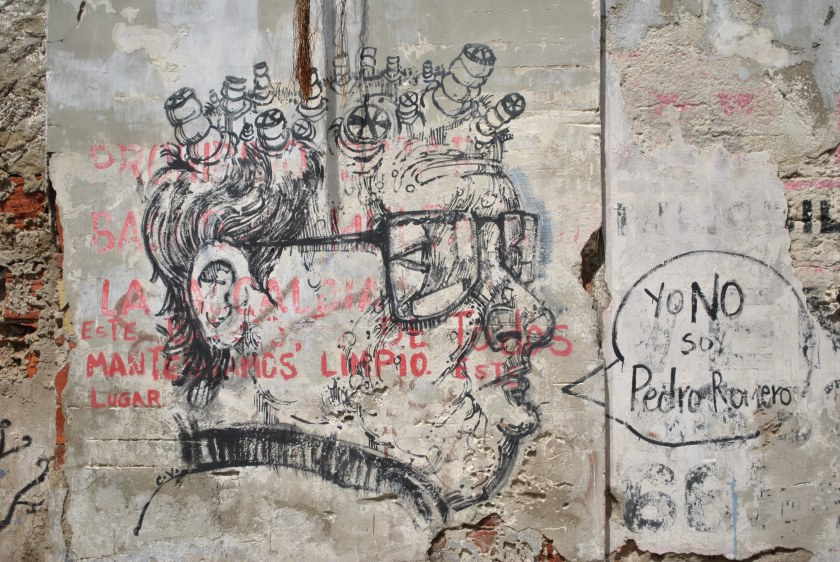 Street art, Cartagena, Colombia